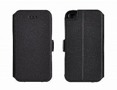 Pouzdro   obal BOOK POCKET pro iPhone 6 Plus   6s Plus - černé ... a543a195e58