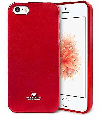 6c75b7320d Pouzdro   obal Mercury Jelly Case pro Apple iPhone 5   5s   SE červené