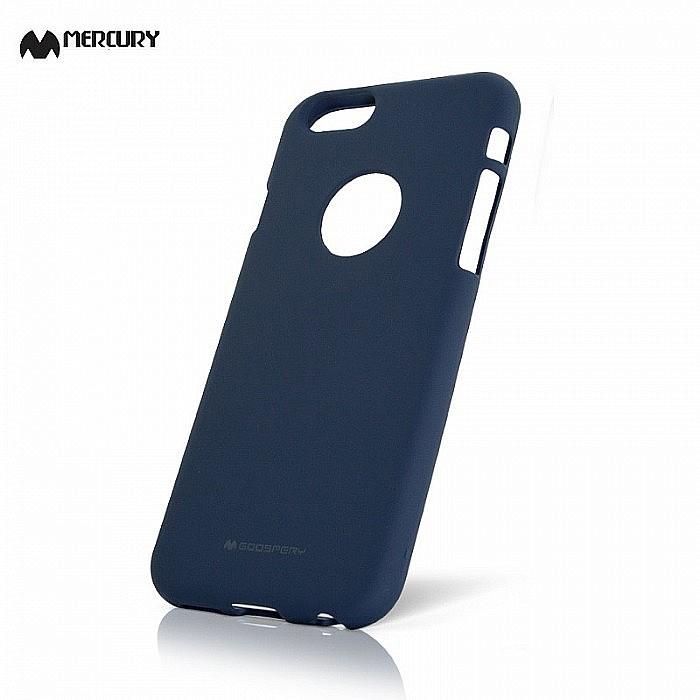 Gelové pouzdro   obal Soft Feeling Case Iphone 6 tmavě modré ... f0aa2faf94c
