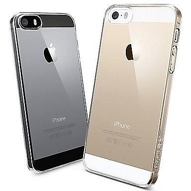 Zadní silikonové pouzdro   obal Apple iPhone 5   5s   SE průhledné ... 7aee7748cea